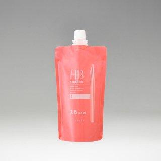 ナプラ HBストレート 7.8 クリーム1剤400g