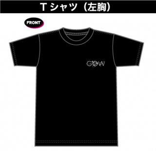 GOW ロゴTシャツ(左胸プリント)