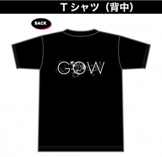 GOW ロゴTシャツ(背中プリント)