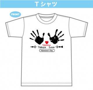 中澤卓也&新浜レオン 手形デザインTシャツ