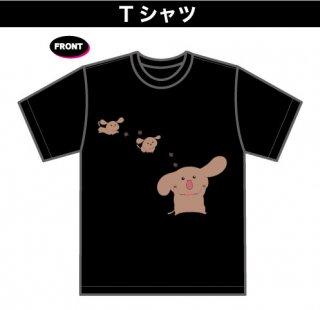 まーちゃんTシャツ(1)(本体:黒)