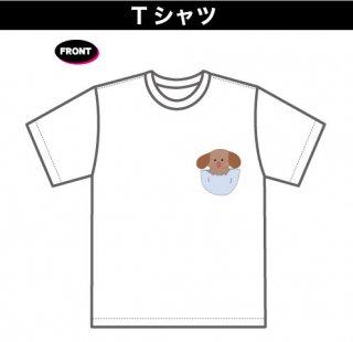 まーちゃんTシャツ(3)(本体:白)