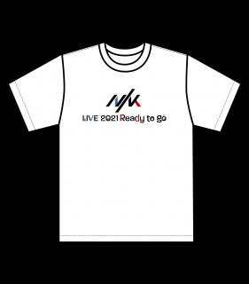 NIK LIVE 2021 - Ready to go -オフィシャルTシャツ(配送)
