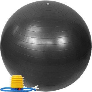 バランスボール 65cm ポンプ付き アンチバースト EGS(イージーエス) バランスボール 65cm EG-3062【ジムボール ヨガボール エクササイズボール】