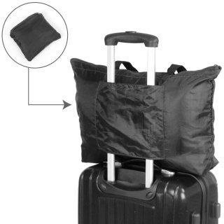 折りたたみバッグ 旅行 VAXPOT(バックスポット) トラベルサブバッグ VA-1909【スーツケース や キャリーケース のハンドルに通して固定】