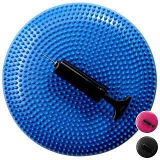 バランスディスク バランスクッション 1個 ポンプ付き EGS(イージーエス) バランスディスク EG-3082【体幹クッション ヨガクッション】