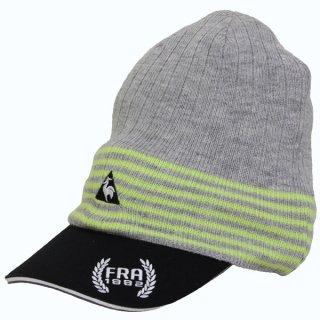ニットキャップ&バイザー ゴルフキャップ le coq golf(ルコックゴルフ) ゴルフ 帽子 サンバイザー QG0493CP N151