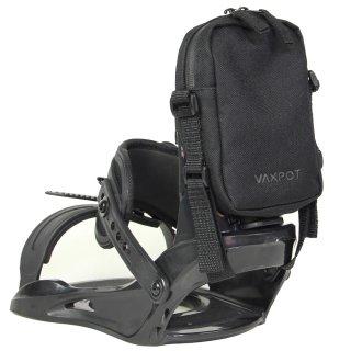 ハイバックポーチ スノーボード VAXPOT(バックスポット) ハイバック ポーチ VA-3360【ビンディング バインディング ミニポーチ 斜めがけポーチ】