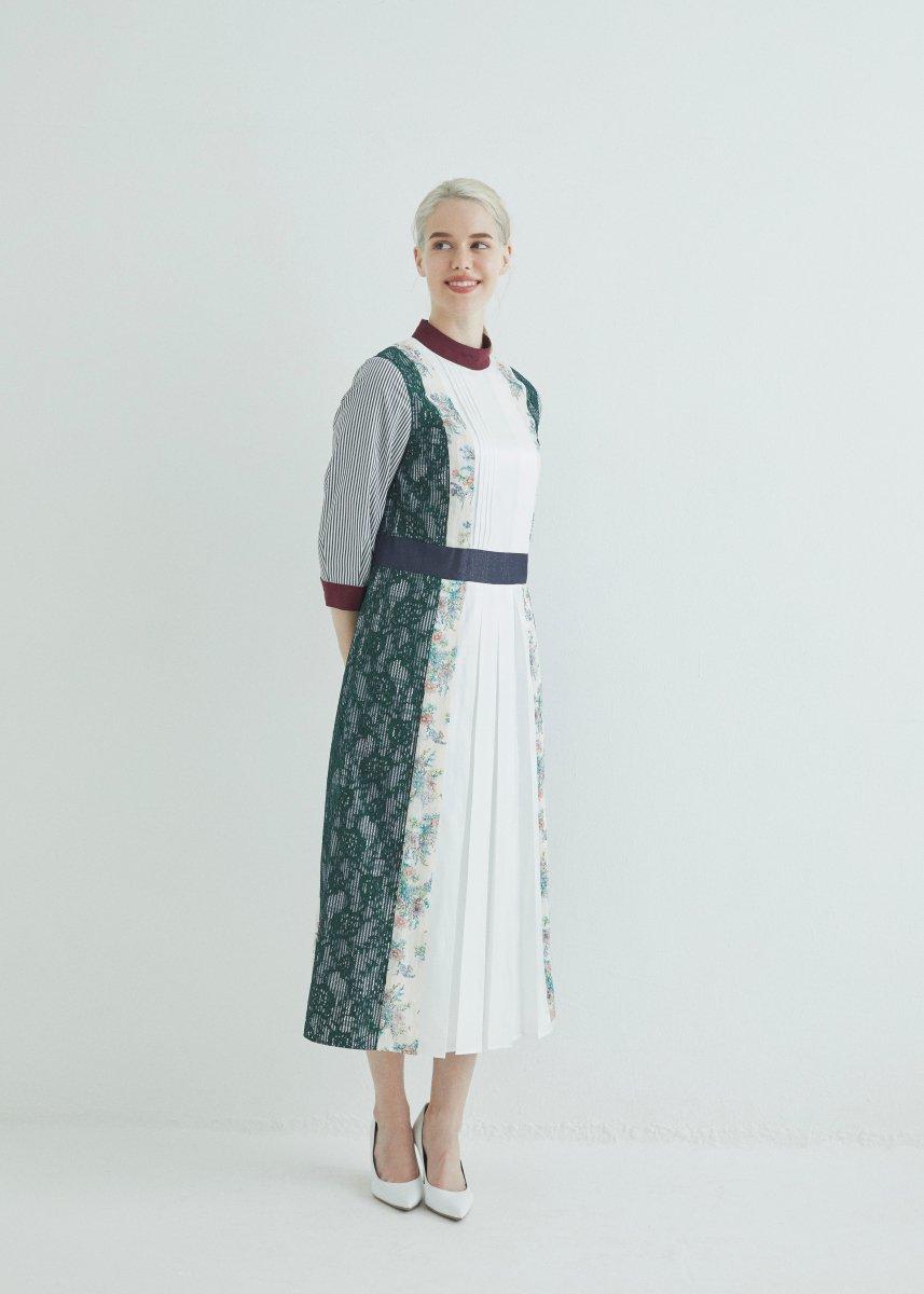 【再入荷】Patchworked dress