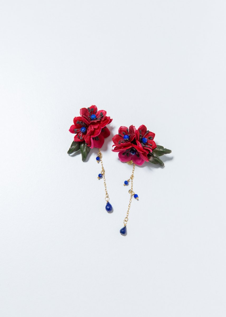 Red flower pierce (2way)
