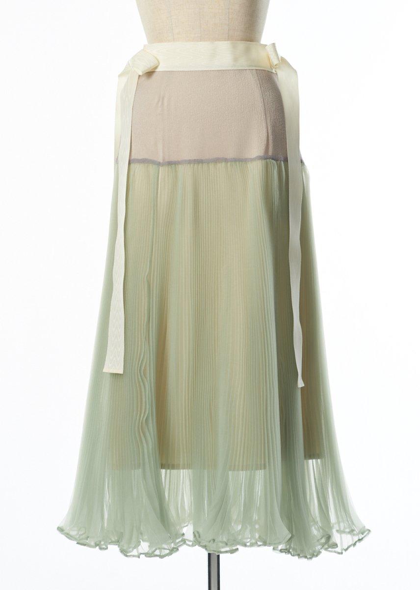 【プレオーダー】ウエストリボンプリーツスカート