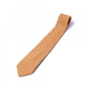 ネクタイ/縞模様 杏色