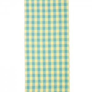 【計り売り】伊勢木綿 反物(20/20)/布団縞 箱格子 芽吹き