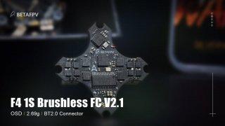 F4 1S Brushless Flight Controller V2.1