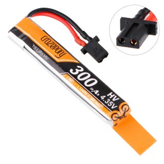 Crazepony 300mAh 1S HV 3.8/4.35V LiPo Battery 30/60C with GNB27 Power Connector