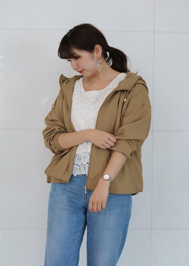 【SALE】ナイロンフードジャケット