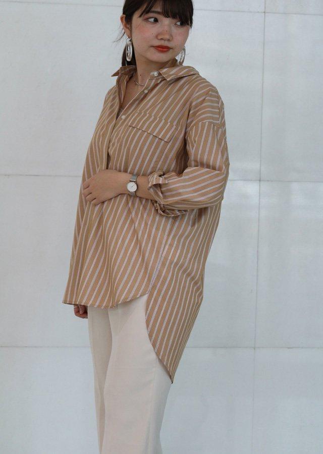 【SALE】ビックシルエットシャツ