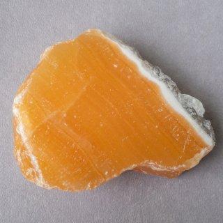 ブラジル産オレンジカルサイト 原石