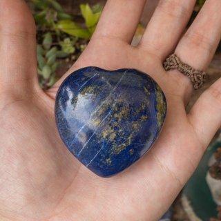 【ハート型】ラピスラズリの握り石