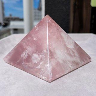 ローズクォーツ【ピラミッド】01