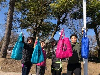 2020/03/15(日)08:00 名城公園プロギングVol.2