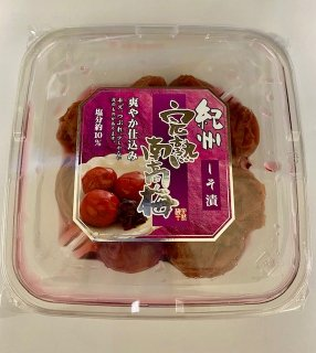 紀州完熟南高梅しそ漬(はねだし)220g