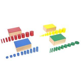色付き円柱(セット)