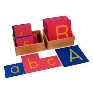 アルファベット砂文字板(大文字・小文字)