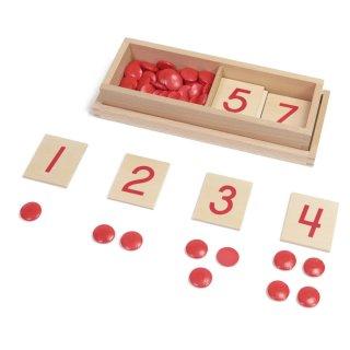 数字板と玉