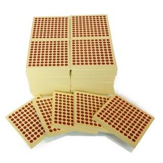 木製 100の板(45枚入)