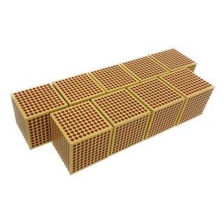 木製 1000の立方体(9個入)