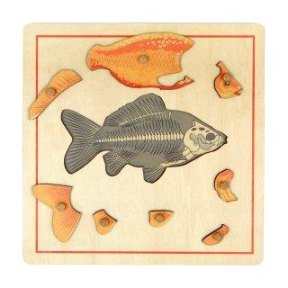 スケルトンのパズル(魚)