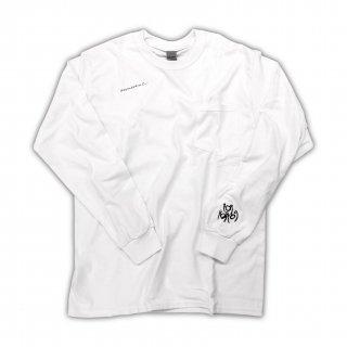 White summertime long sleeve T-Shirt