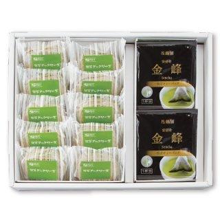 【贈答用】金峰ティーバッグ24袋+抹茶ダックワーズ