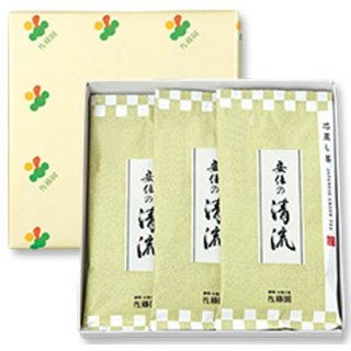 【贈答用】安倍の清流100g平袋(箱入3本)
