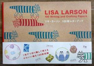リサラーソン 100枚レターブック  かわいい紙・便箋