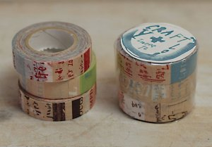 倉敷意匠 マスキングテープ3巻セット(グラフィティA)
