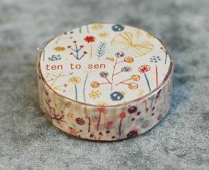 倉敷意匠 しげみ マスキングテープ 1巻(ピンク)