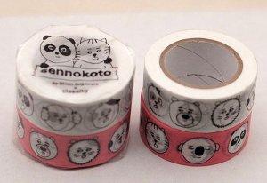 sennokoto/菅原しおん マスキングテープ  (フェイス)