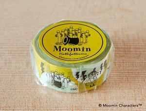 ムーミン マスキングテープ (ニョロニョロ)イエロー