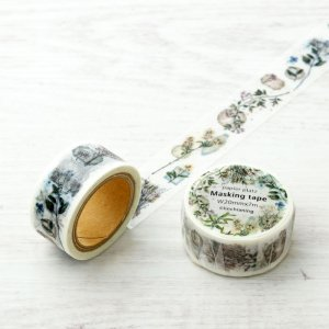 LINCHIANING マスキングテープ Vintage flower