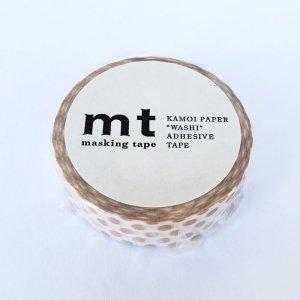 mtマスキングテープ1P   ドット・ミルクティー