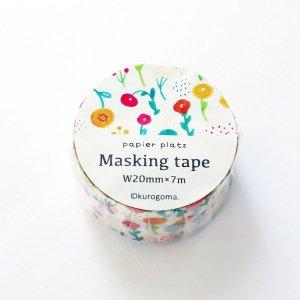 kurogoma マスキングテープ お花畑