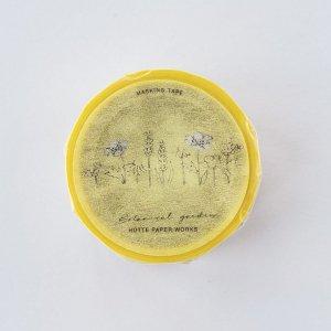 Hutte paper worksマスキングテープ ポピー(黄色)20mm