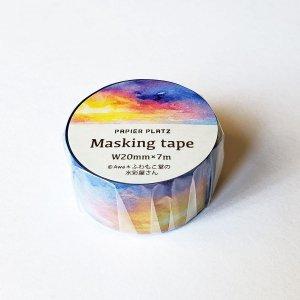 AWA マスキングテープ 朝から夜へ、繋がる空
