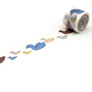ミナペルホネン マスキングテープ follow 35mm 鳥