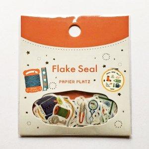 eric  フレークシール Sewing 裁縫道具