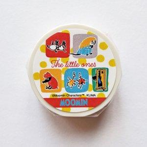 ムーミン マスキングテープ The little ones(type2)