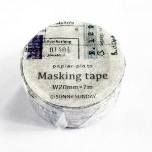 SUNNYSUNDAY マスキングテープ combination