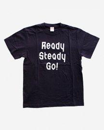 Ready Steady Go! Standard Logo T-shirt Navy/White